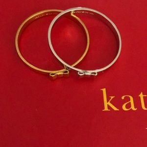 Set of two kate spade bangles